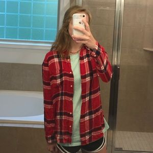 A Red Plaid Flannel